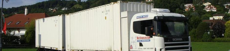 Britannia Smeeton Panton Removals Lincolnshire removals to Switzerland